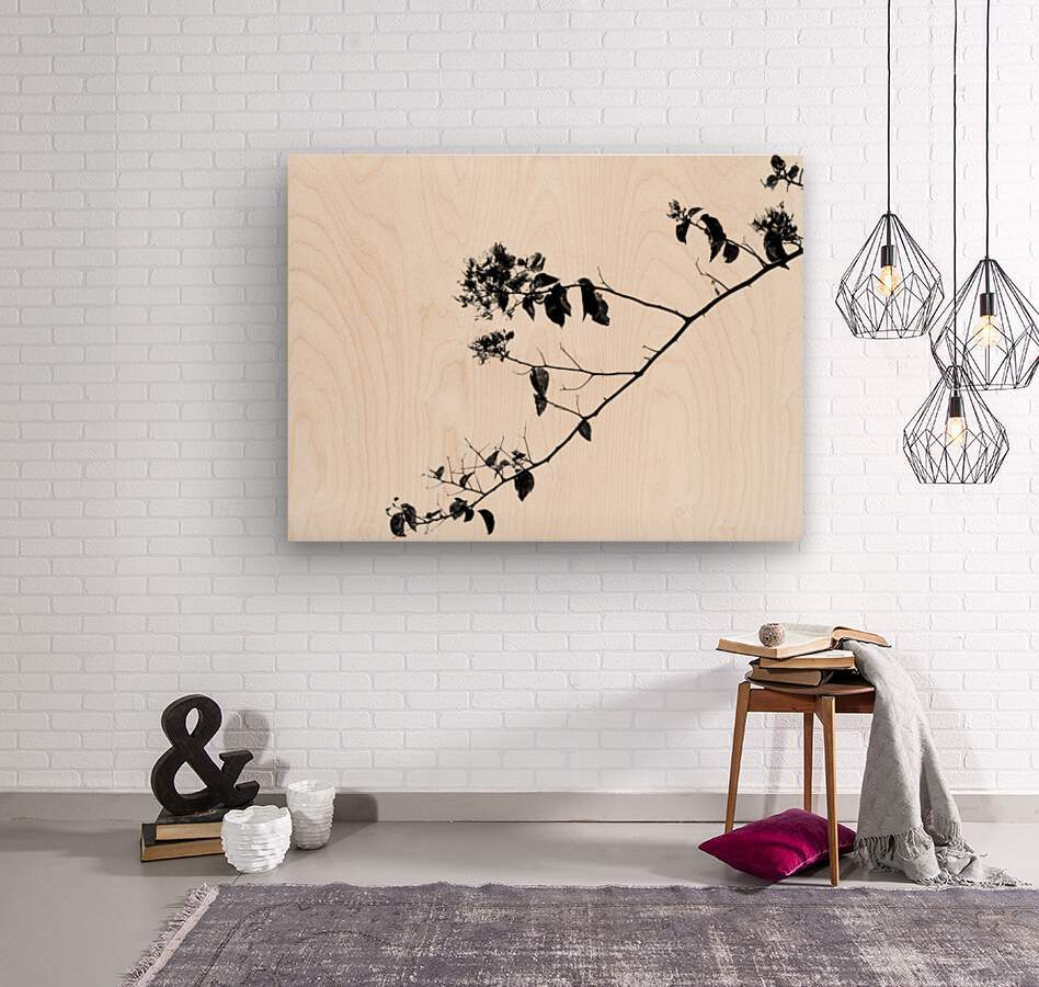 Tree Branch II  Wood print
