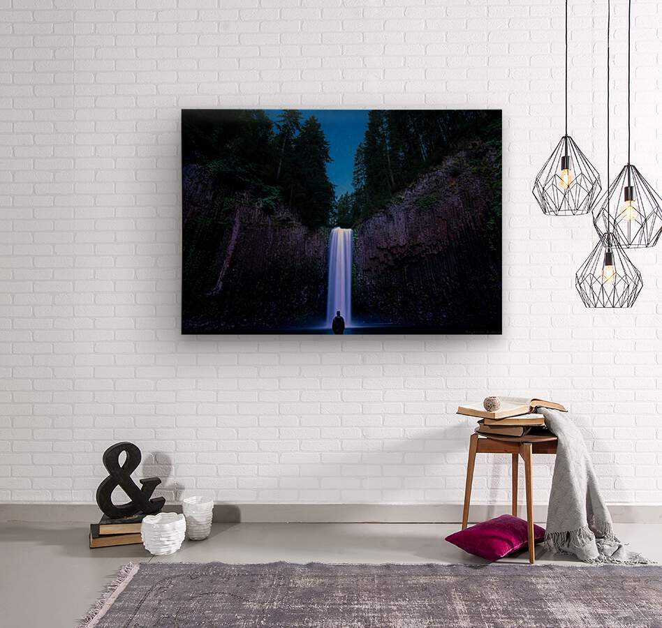 Abiqua Falls  Wood print