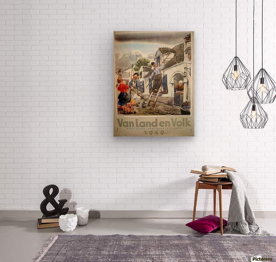 VonLandenVolk  Wood print