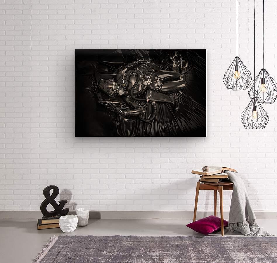 Totally Enclosed MsPervology  Wood print