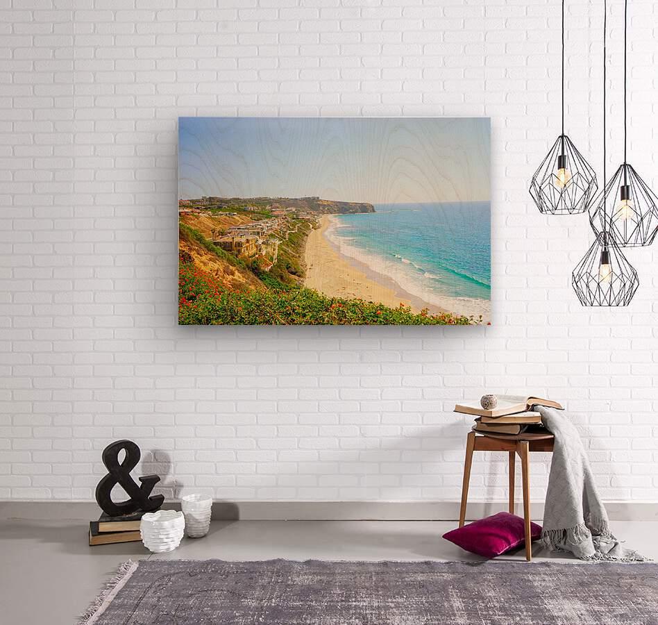 Beautiful Coastal View Newport Beach California 2 of 2  Wood print