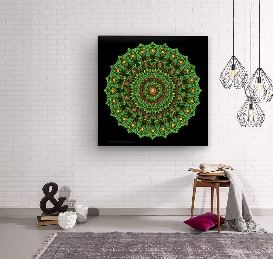 Mandala 2016  Wood print