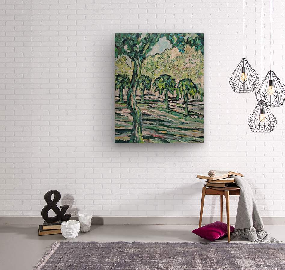 MulberryTrees  Wood print