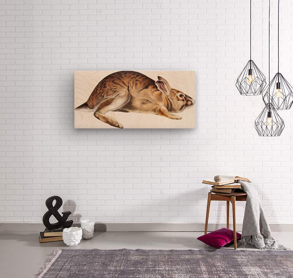 rabbit portrait   pet portrait   custom bunny portrait   custom dog portrait   animal lover gift   gift for her   gift for pet mom  Wood print
