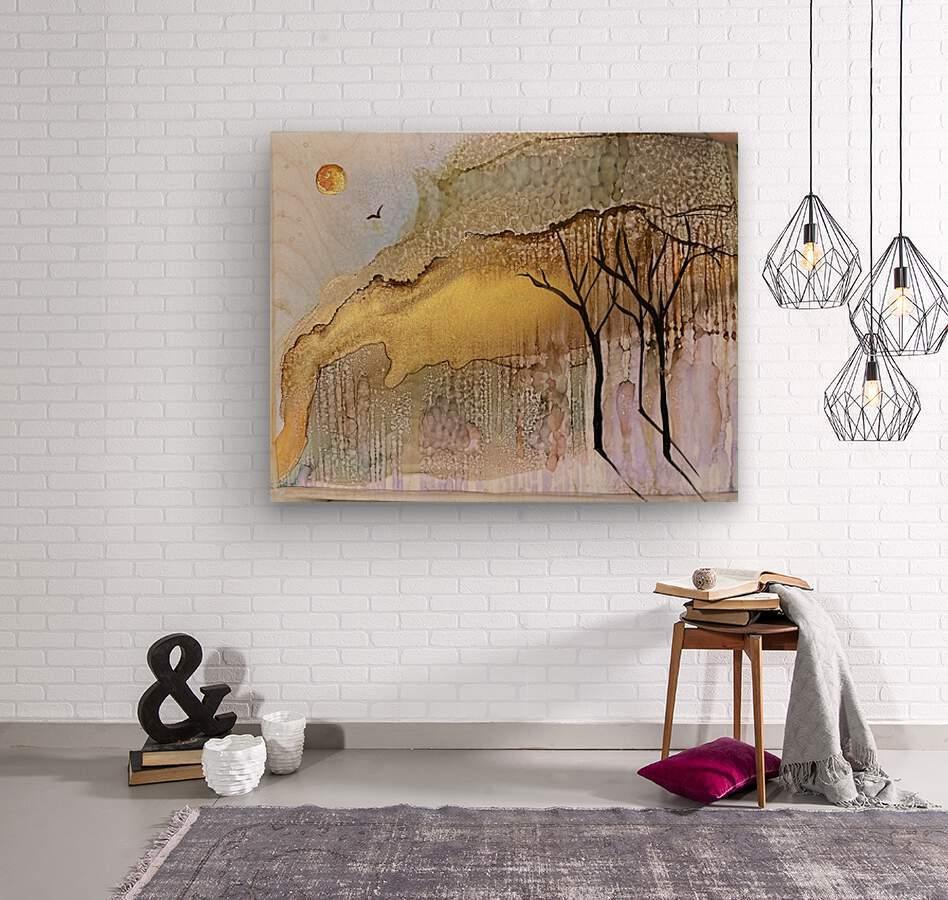 Golden Hour  Impression sur bois