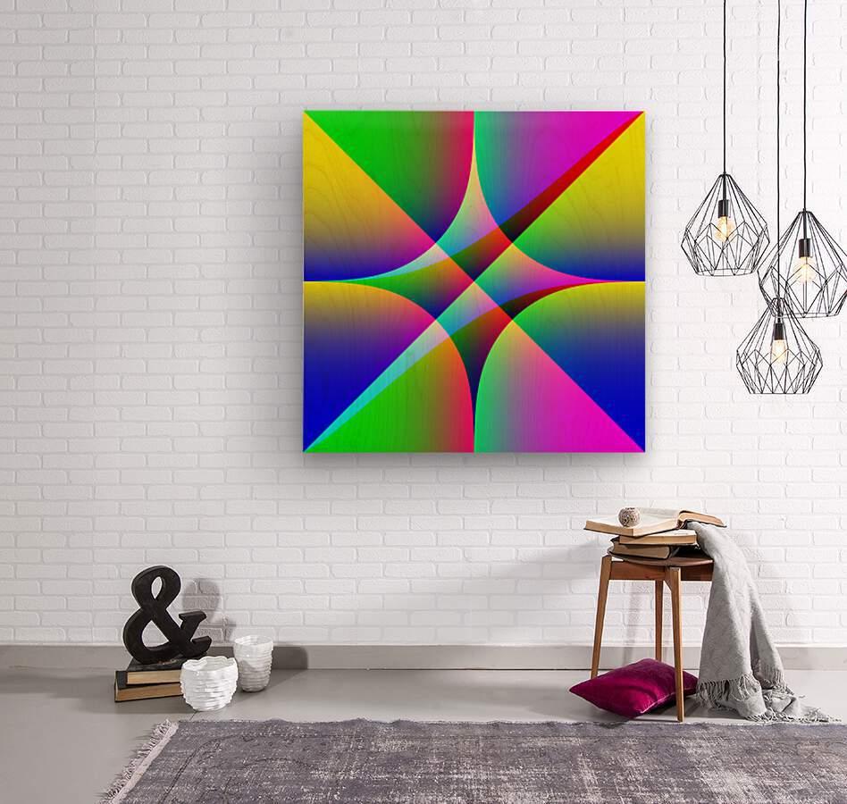 26587  Wood print