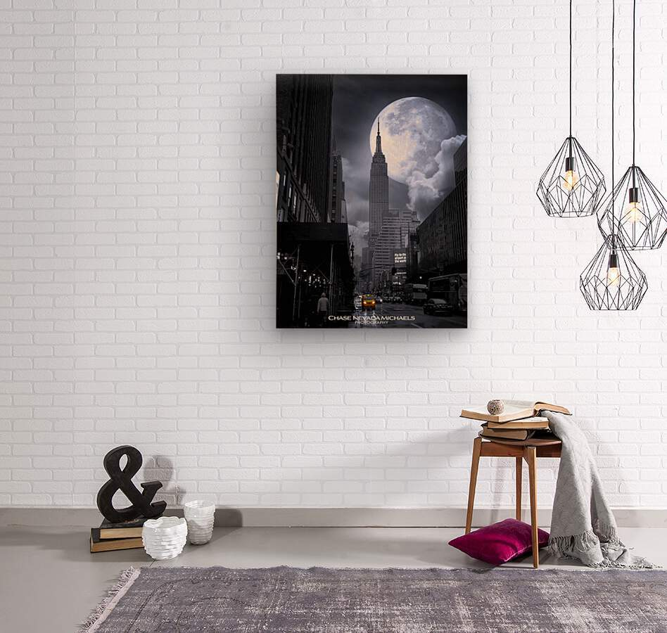 Empire2  Wood print