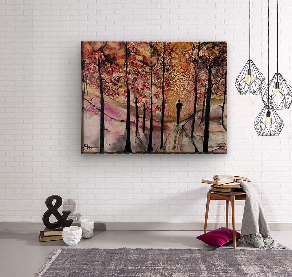 The Wanderer  Impression sur bois