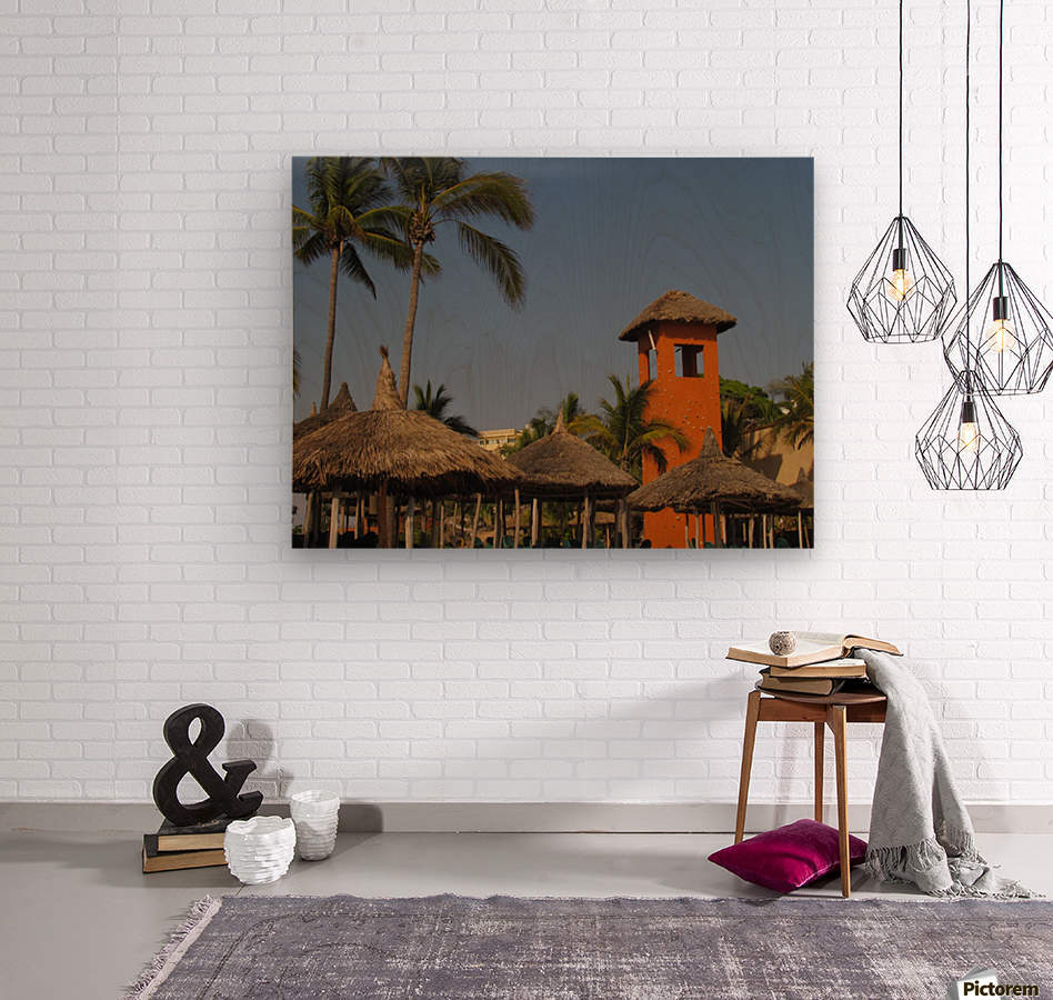 Mazatlan Resort  Wood print
