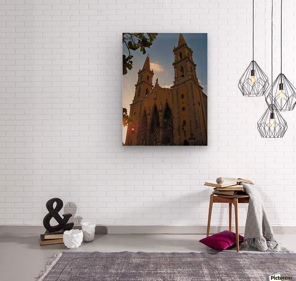 Catedral Basilica de Mazatlan  Wood print