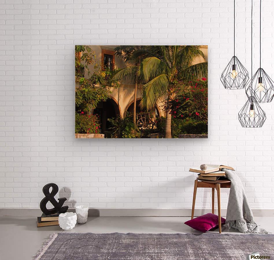 Lush and Beautiful   Wood print