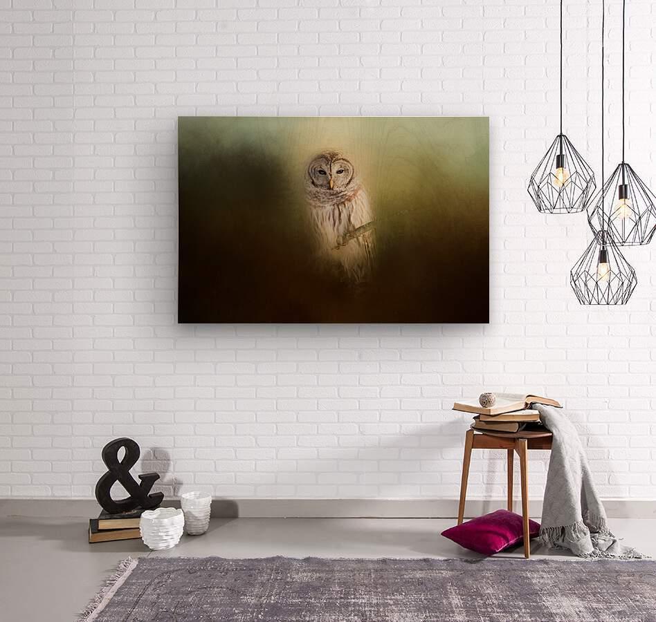 In The Quiet  Wood print