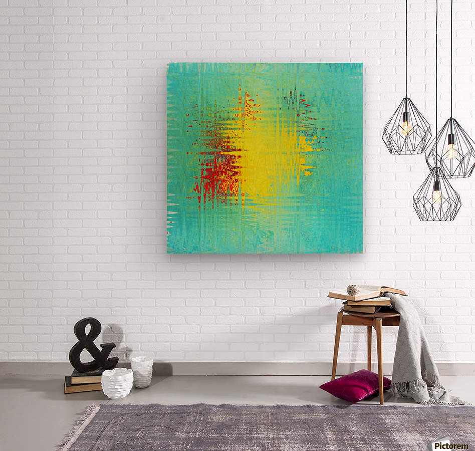 art Ukraine 2014  Wood print