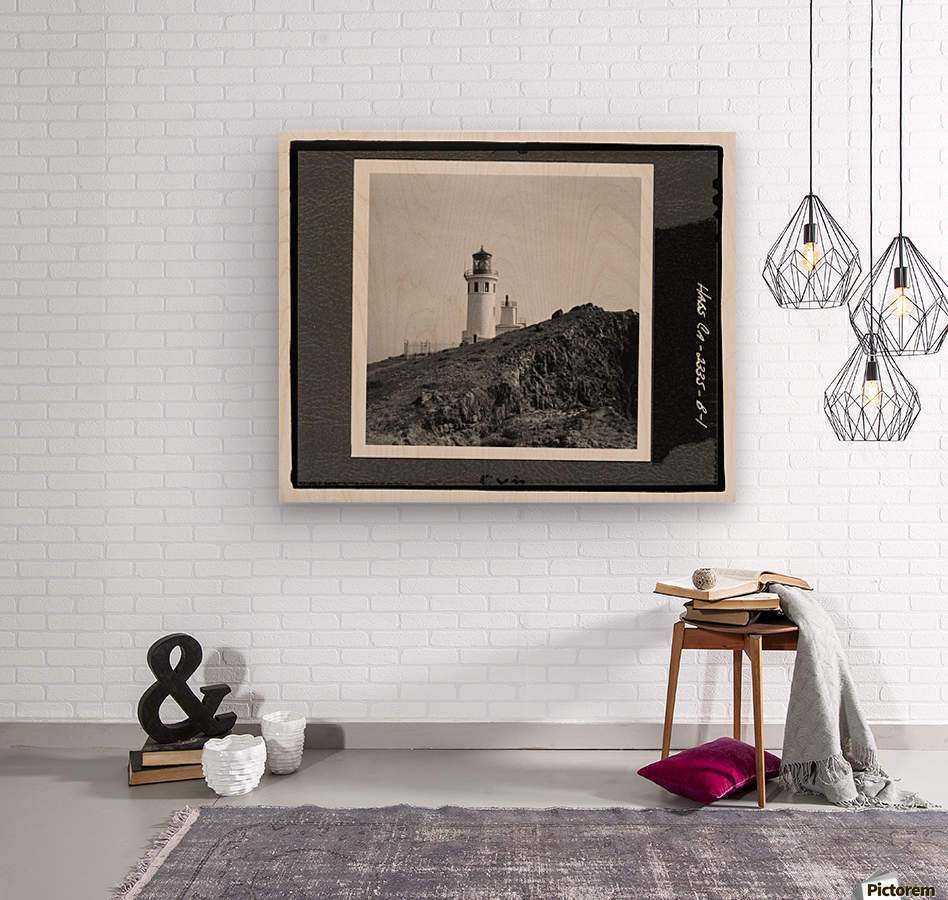 Anacapa Island Light Station, California  Wood print