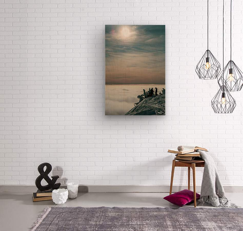 Effortless Tranquility  Wood print