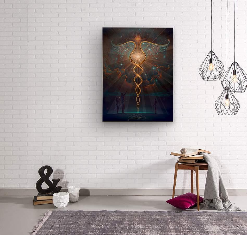 Heroes of the Healing Arts  Wood print