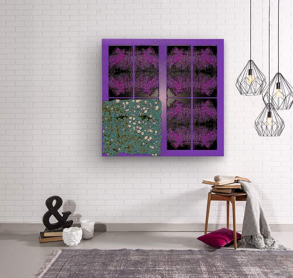 Spiritual Brainwaves  Wood print