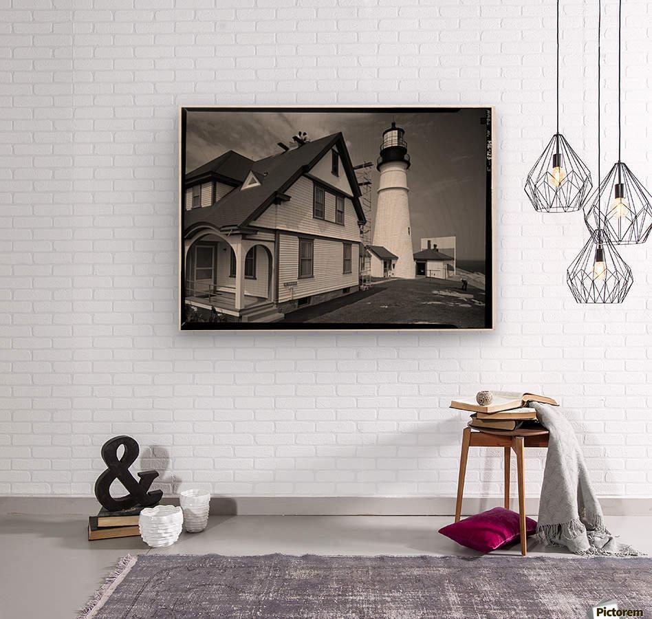 Portland-Head-Light-Maine  Wood print