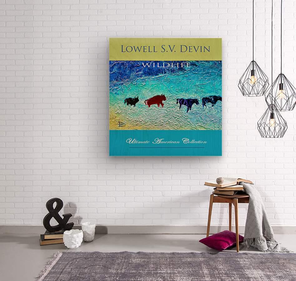 Devin Wildlife UAC Show Poster  Wood print