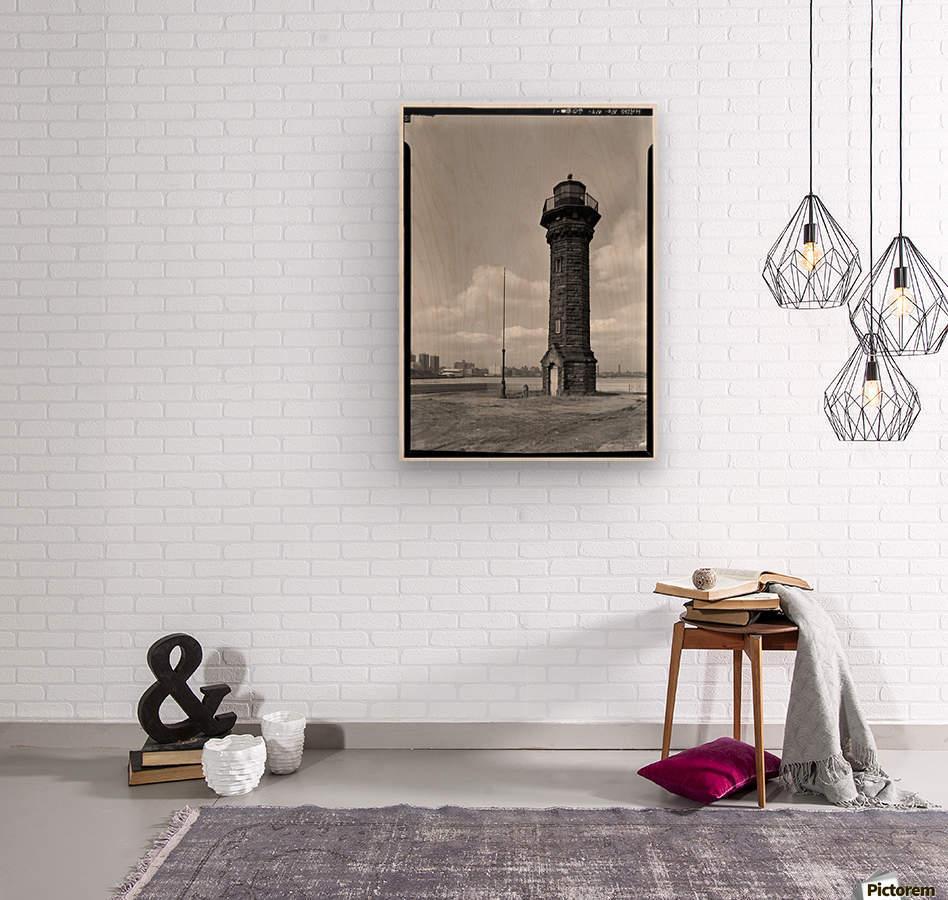 Welfare-Island-Lighthouse-NY  Wood print