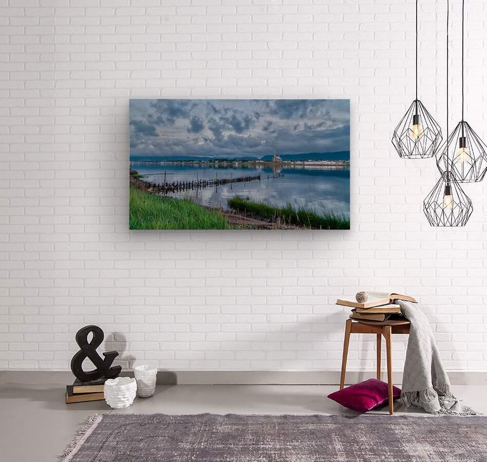 Cheticamp Harbour  Wood print