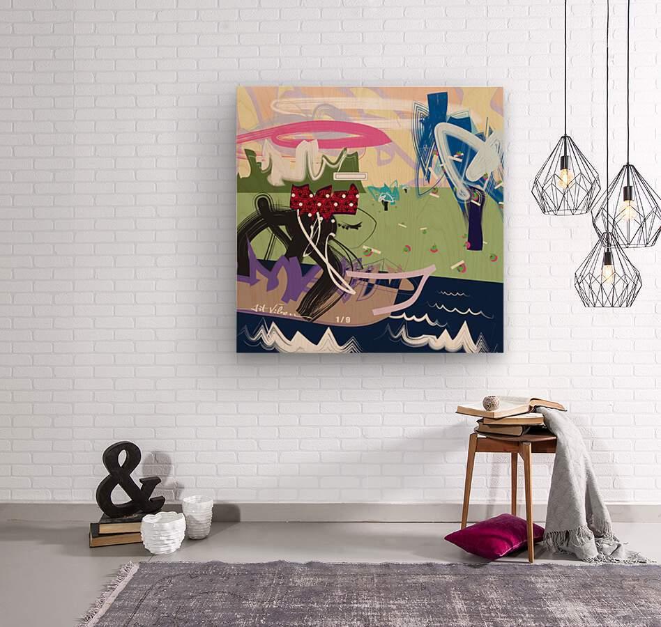 Da Cruze  Wood print