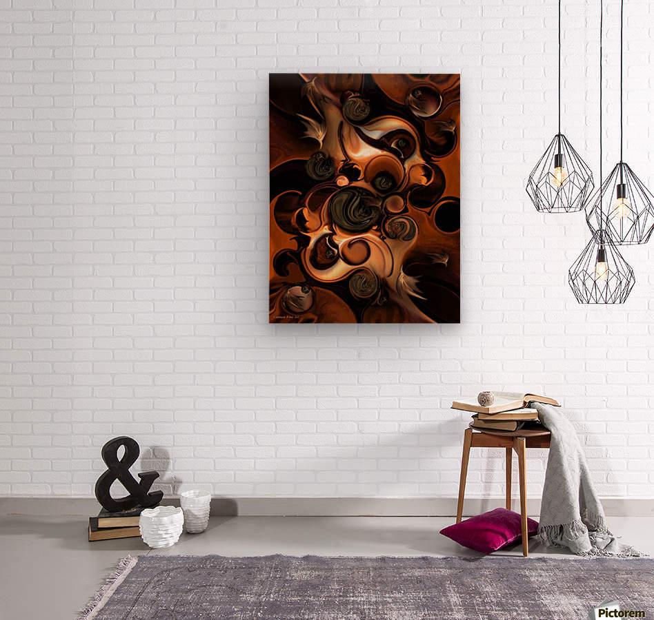 Soft Metamorphosis  Wood print