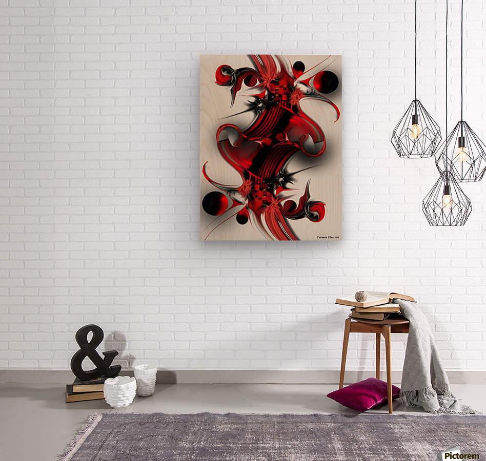 Unique Formation  Wood print