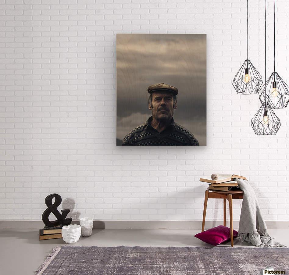 His name is Ljubisa  Wood print