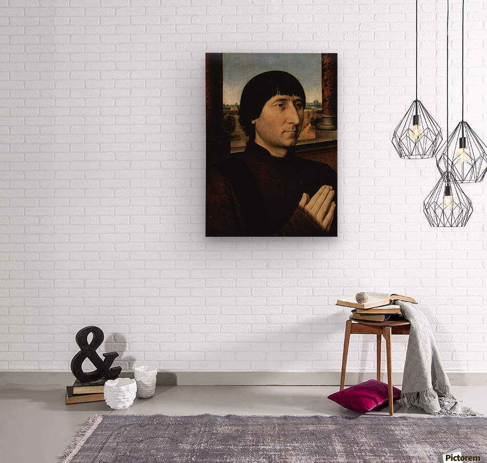 Portrait of Willem Moreel  Wood print