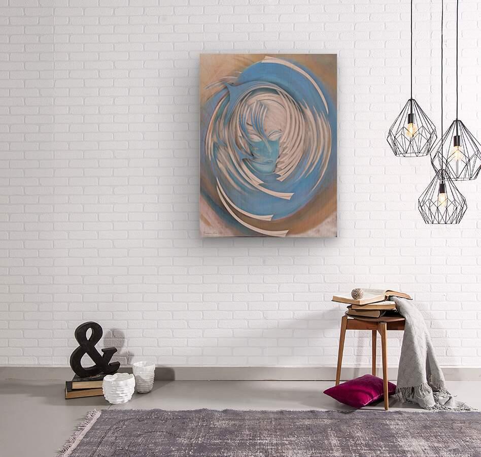 Dream or Spirit  Wood print