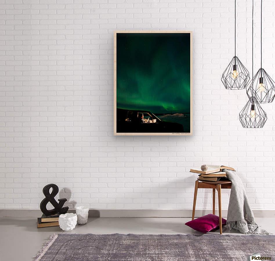 Aurora spectator  Wood print