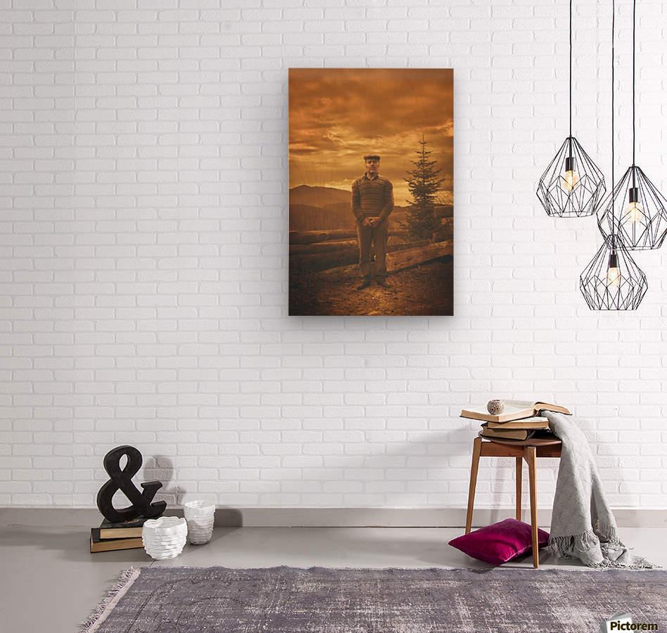 Ljubisa  Wood print