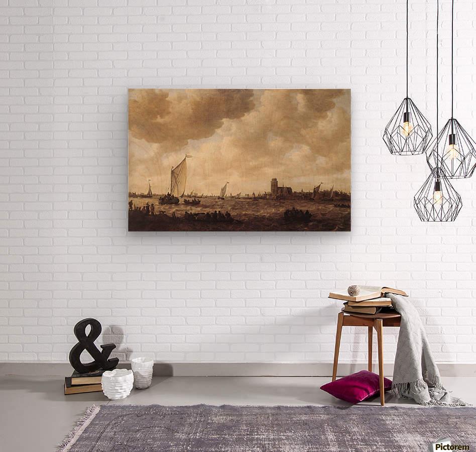 View of Dordrecht  Wood print