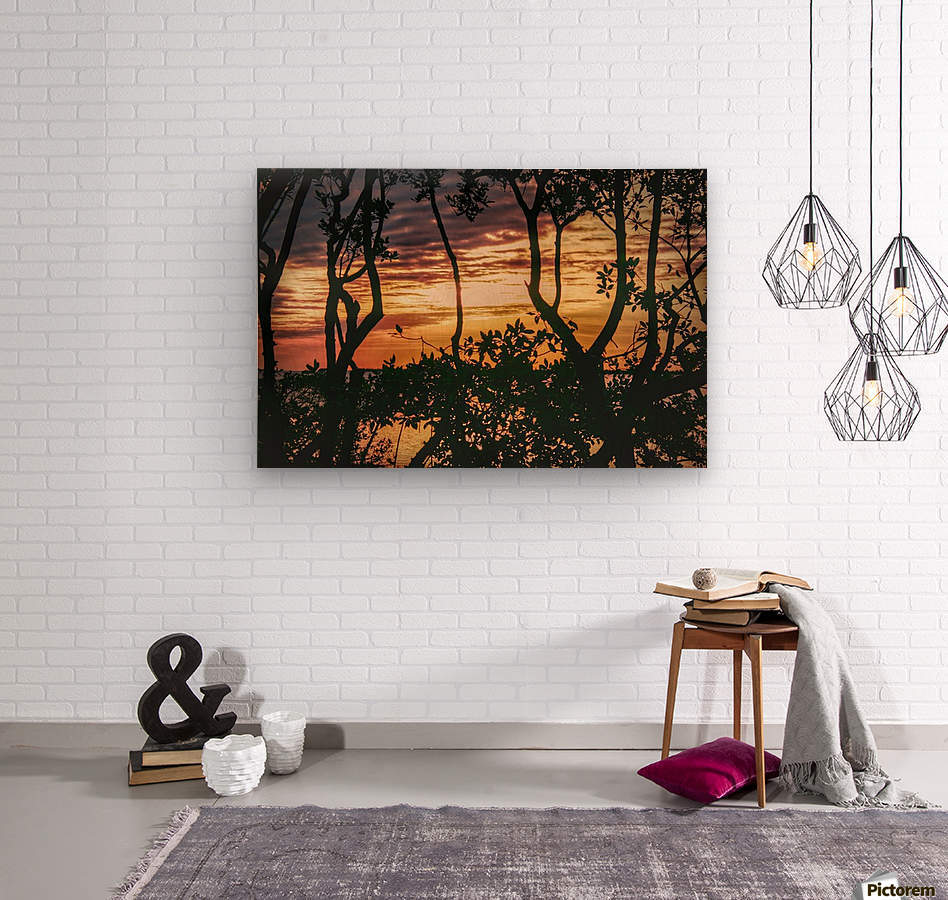 Sunset Collection - 03  Wood print