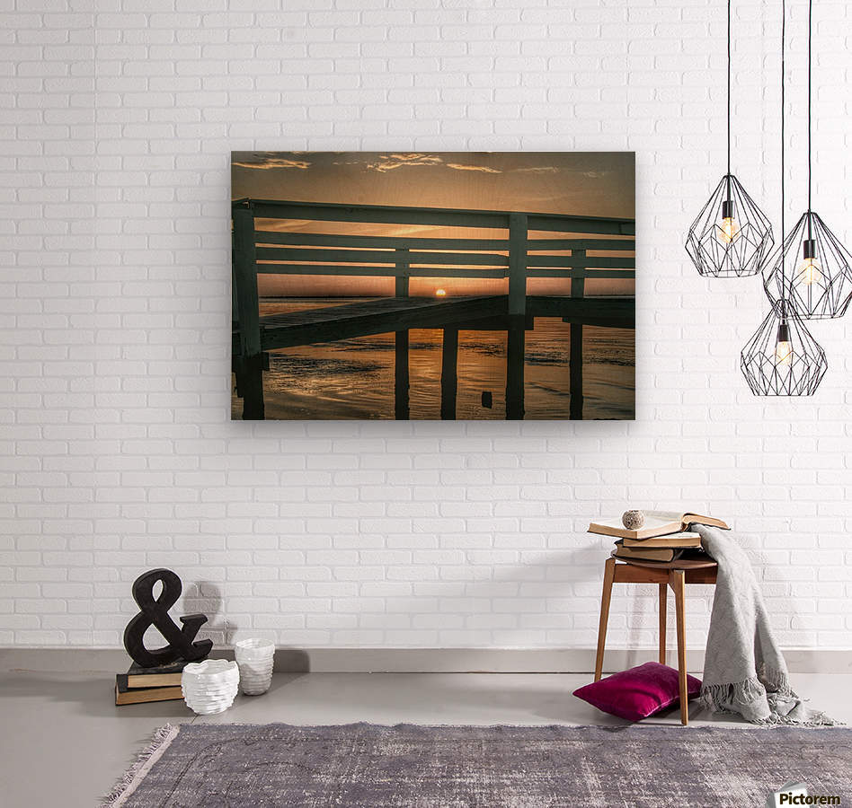 Sunset Collection - 04  Wood print