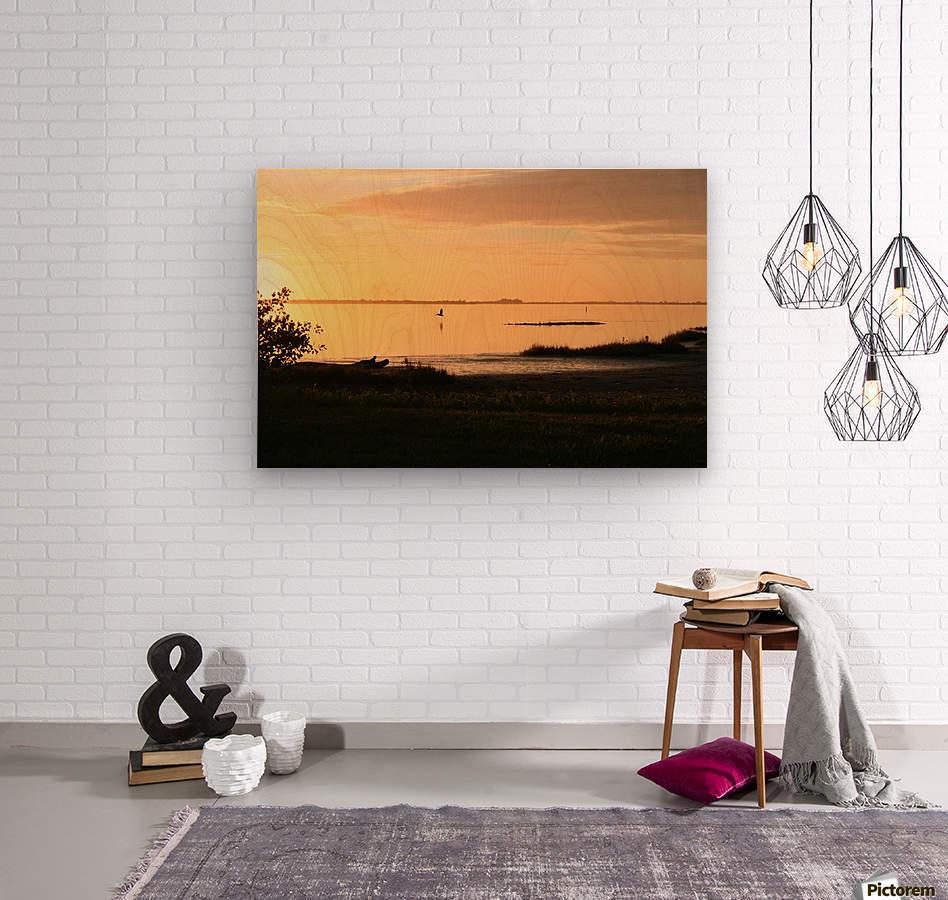 Island Sound - 2  Wood print