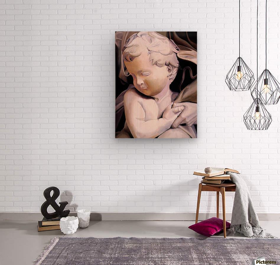 THE CHILD  Wood print