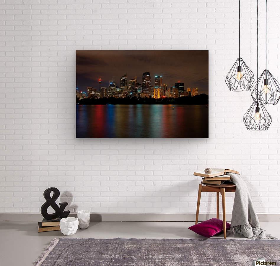 Colors of Sydney  Wood print