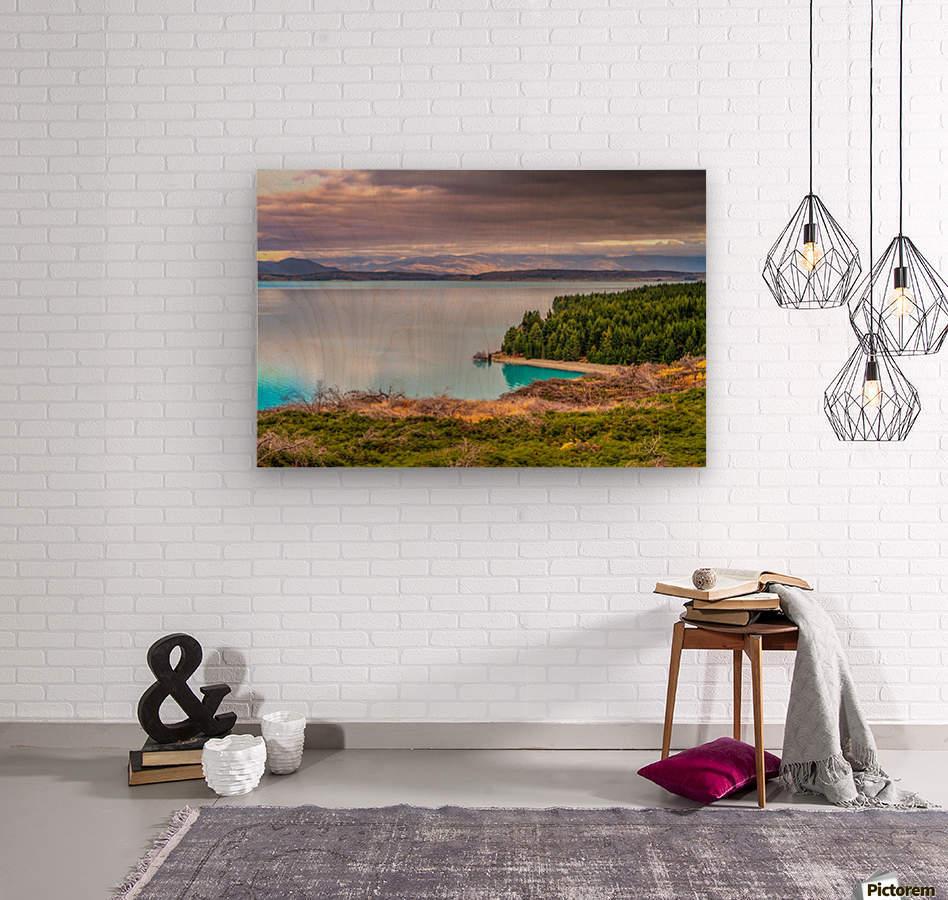 Lake_pukaki  Wood print