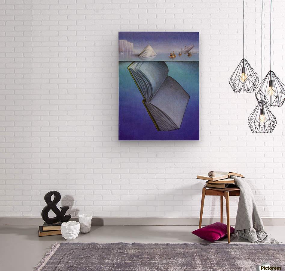 iceberg  Impression sur bois