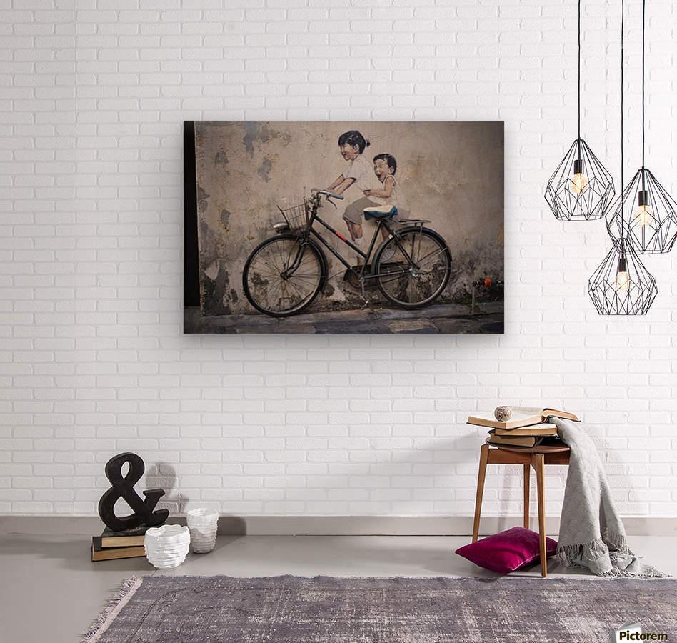 Penang  Wood print