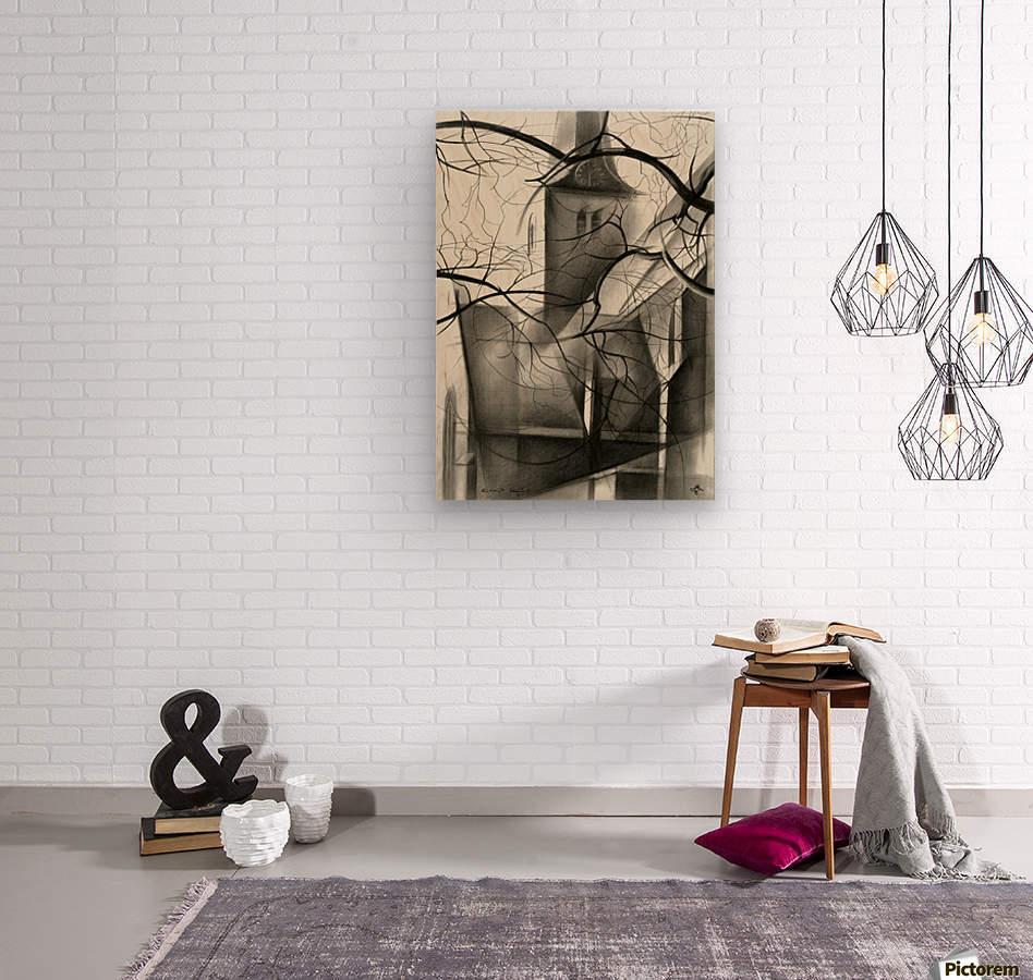 Rijswijk - 04-12-15  Wood print