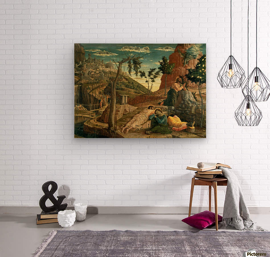 San Zeno Agony in the Garden  Wood print