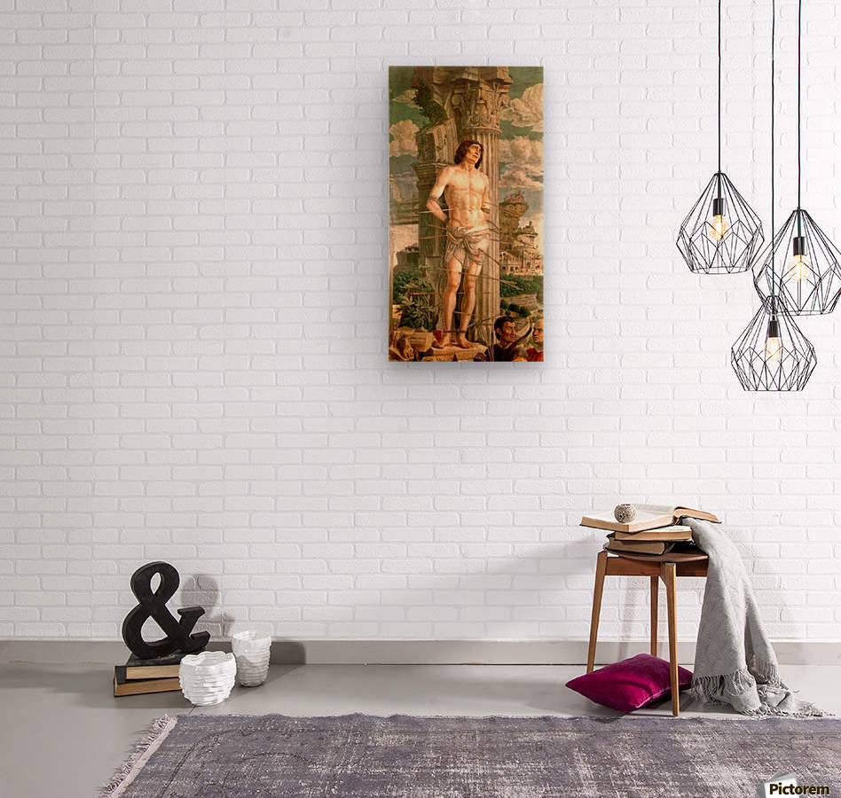 San Sebastiano  Wood print