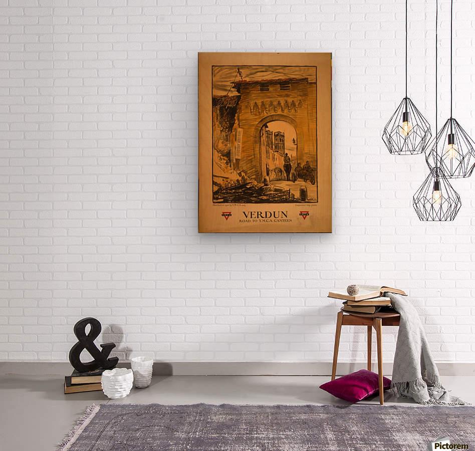 Verdun  Wood print