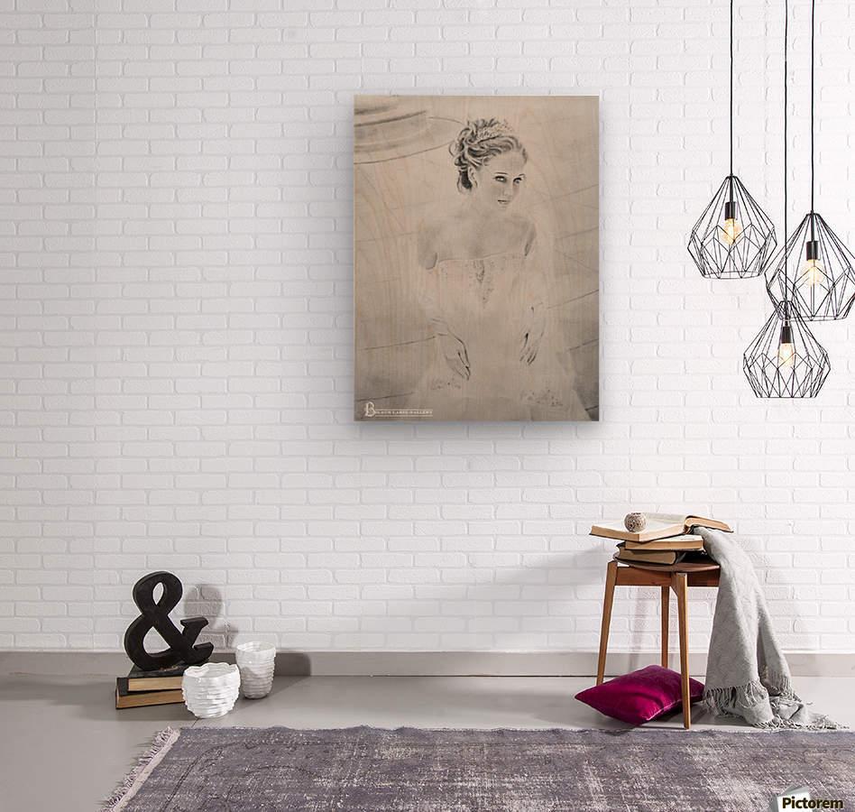 Bride BLG  Wood print