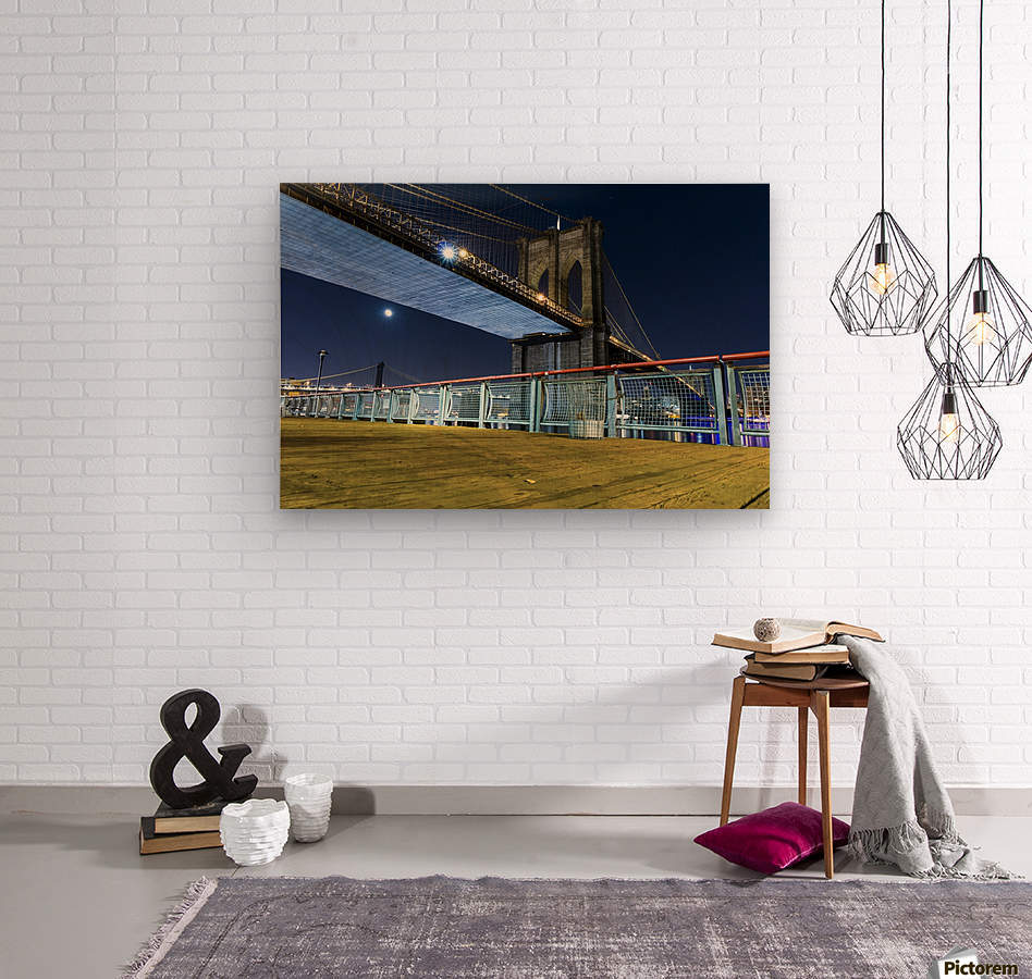 The Brooklyn Bridge 0  Wood print