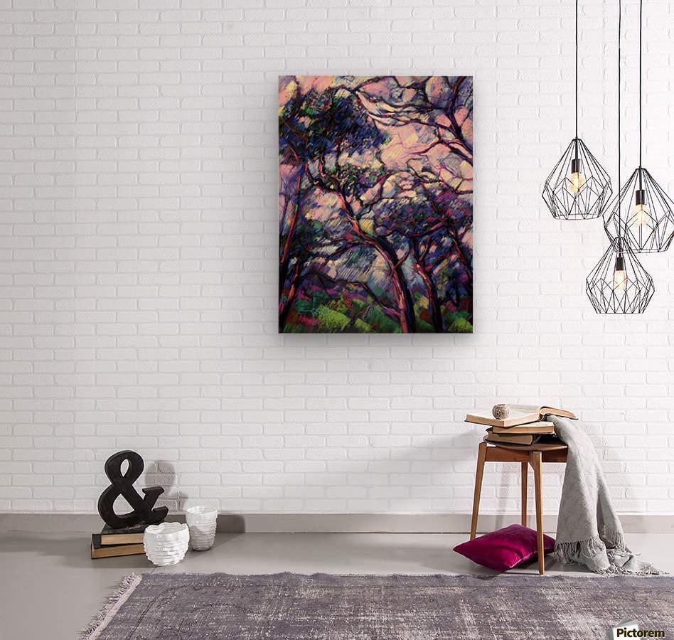 Meyendel - 26-02-15  Wood print