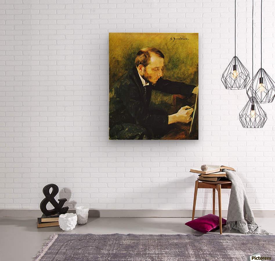 Eero Jarnefelt  Wood print